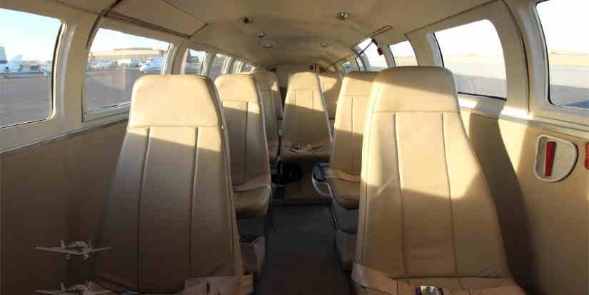 салон самолета Cessna F406 Caravan II
