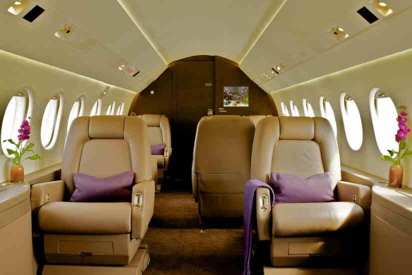 бизнес джет Dassault Falcon 2000