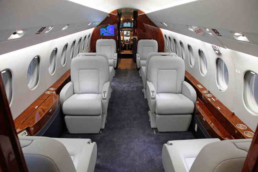 бизнес джет Dassault Falcon 2000 EX
