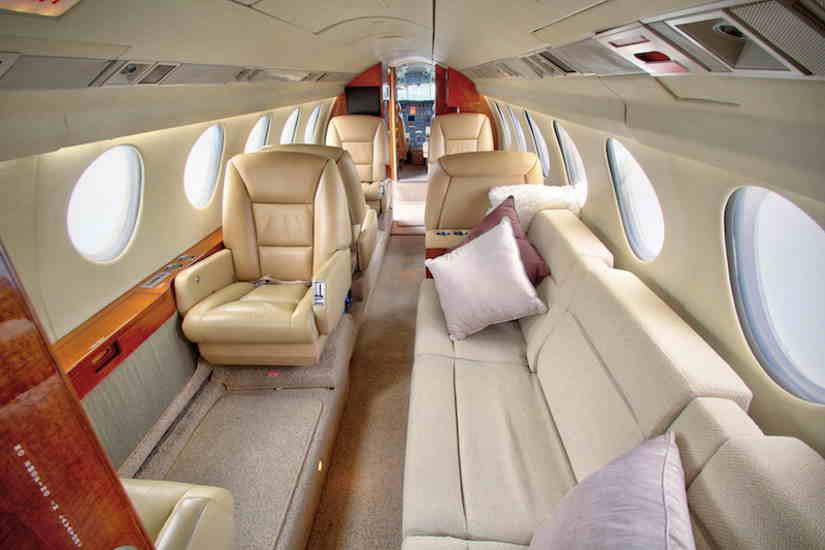 бизнес джет Dassault Falcon 50