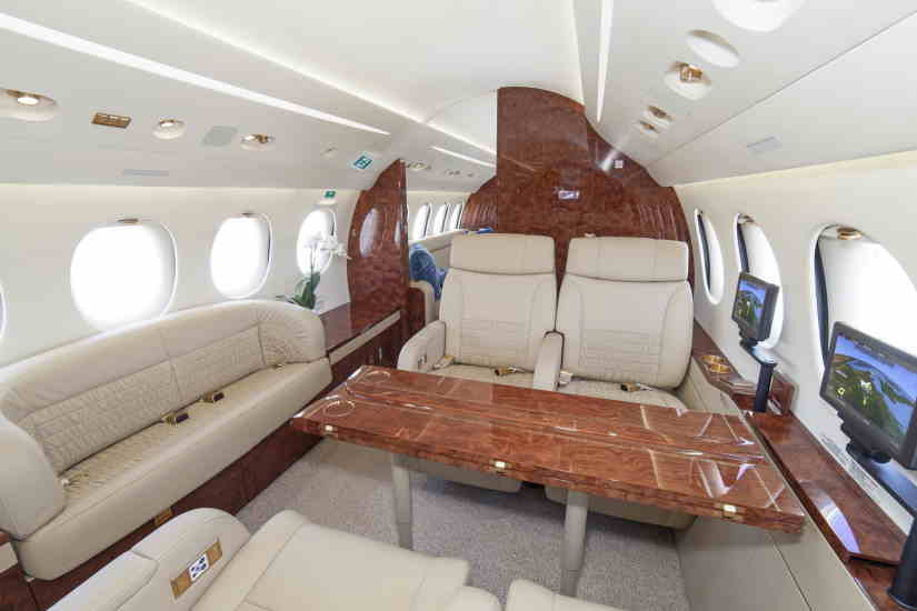 бизнес джет Dassault Falcon 8X