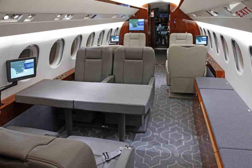 бизнес джет Dassault Falcon 900