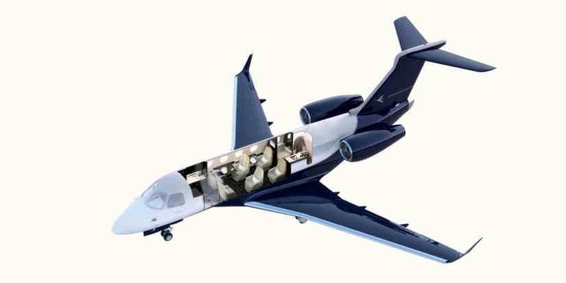 схема самолета Embraer Legacy 450