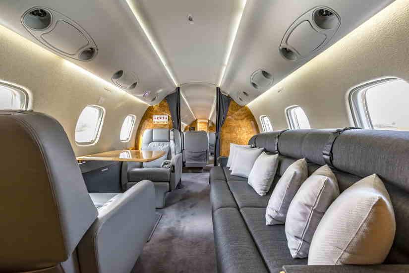 бизнес джет Embraer Legacy 600