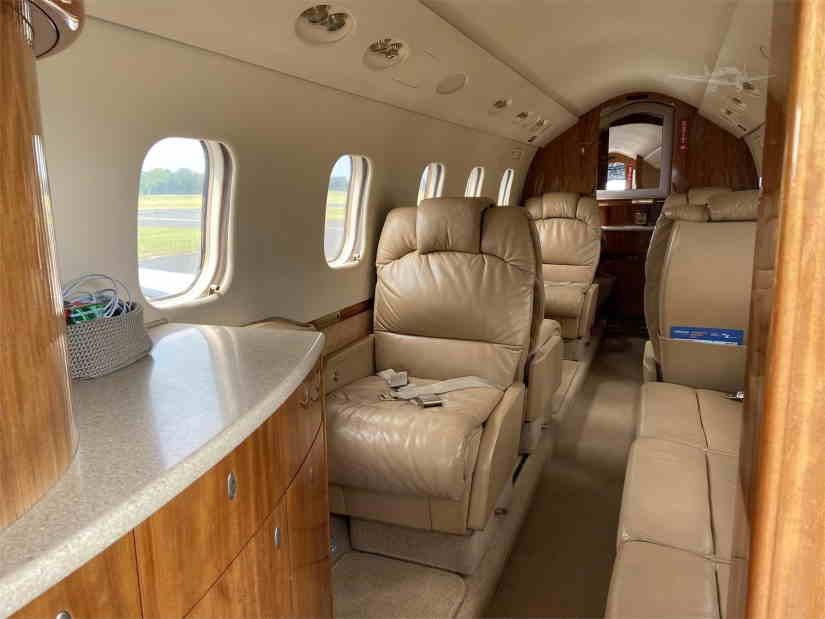 бизнес джет Gulfstream G100