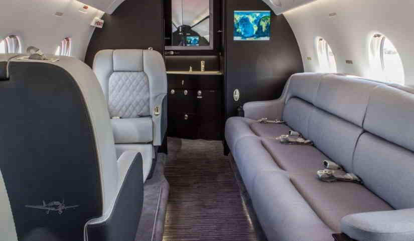 бизнес джет Gulfstream G200