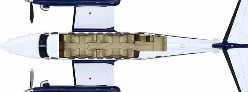 схема самолета Gulfstream G280