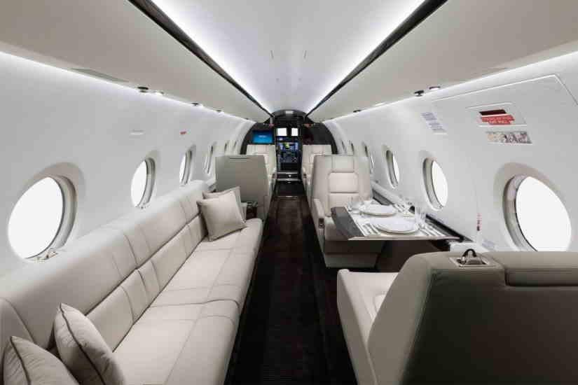 бизнес джет Gulfstream G280