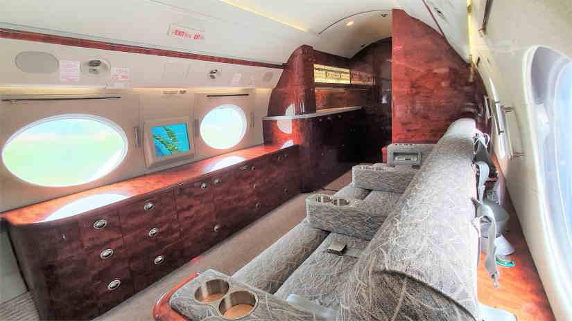бизнес джет Gulfstream G300