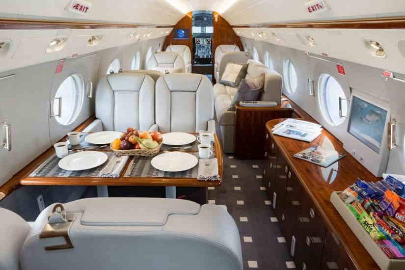 бизнес джет Gulfstream G350