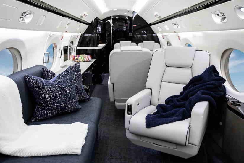 бизнес джет Gulfstream G400