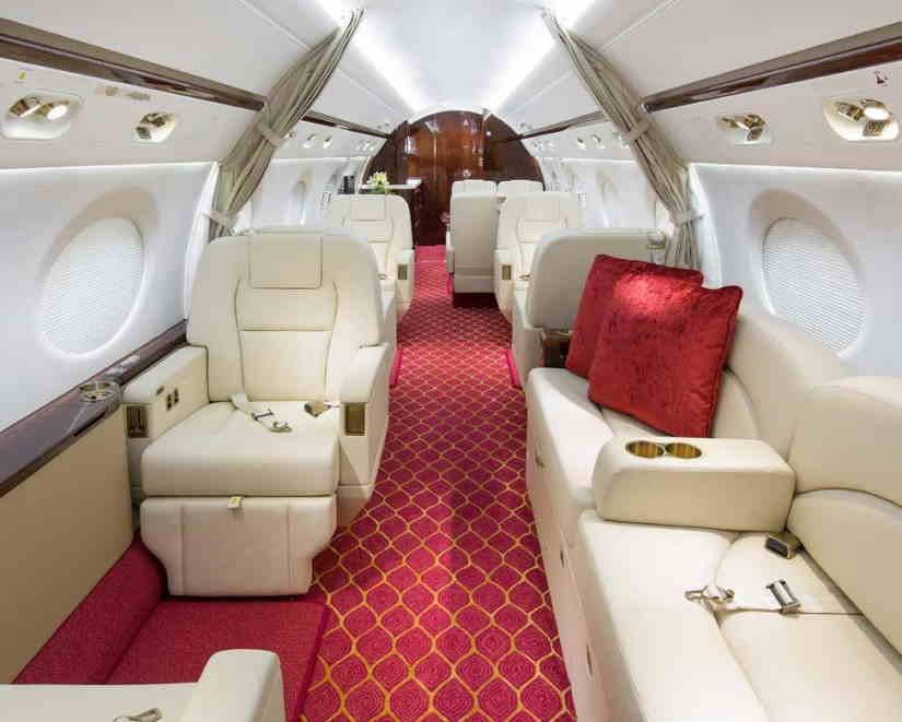 бизнес джет Gulfstream G450