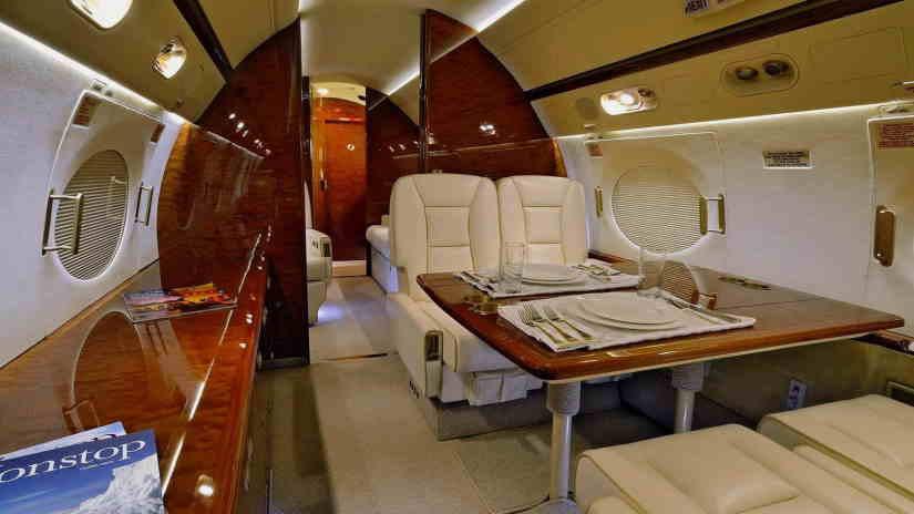 бизнес джет Gulfstream G550