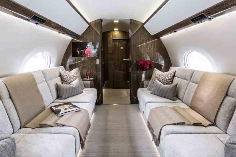 бизнес джет Gulfstream G650