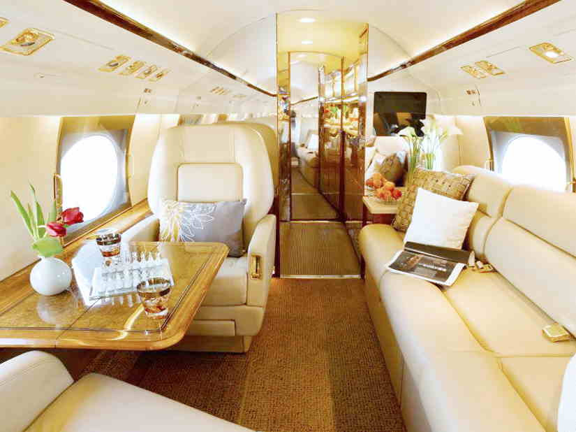 бизнес джет Gulfstream GIV