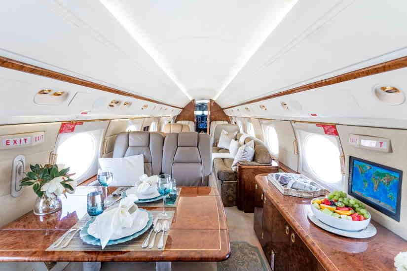 бизнес джет Gulfstream GV
