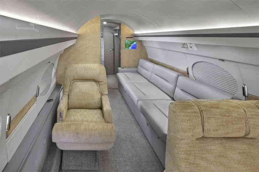 бизнес джет Gulfstream IISP