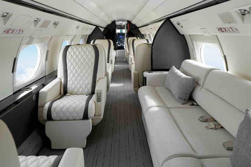 бизнес джет Gulfstream IVSP