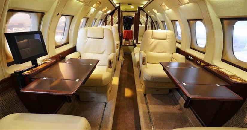 бизнес джет Hawker 800B
