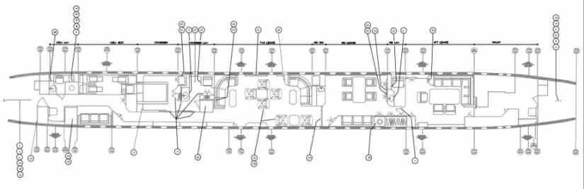 схема самолета McDonnell Douglas DC-8-72