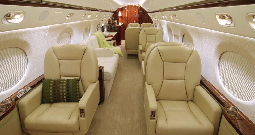 бизнес джет Gulfstream II