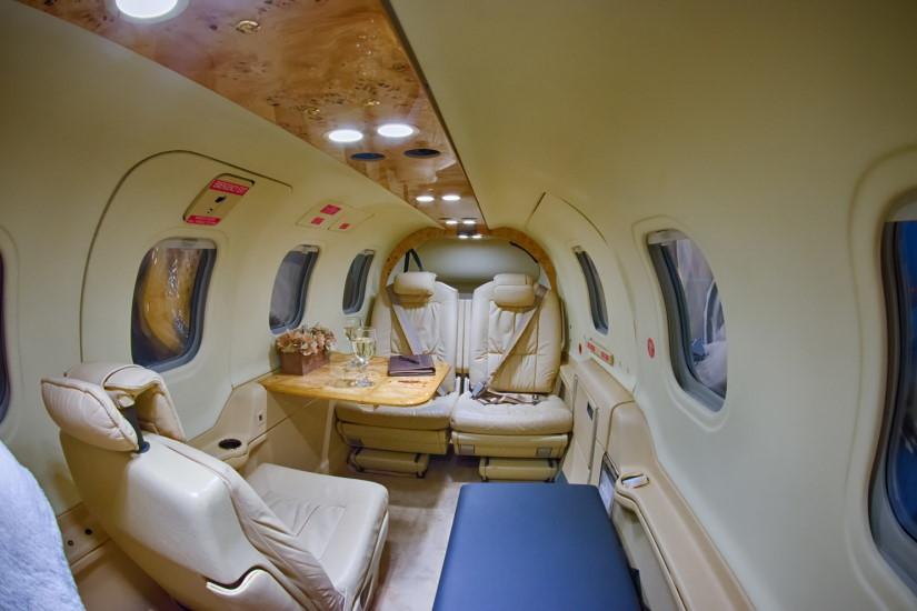 салон самолета Daher Socata TBM 850