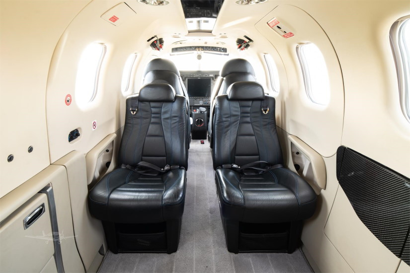 салон самолета Daher Socata TBM 910