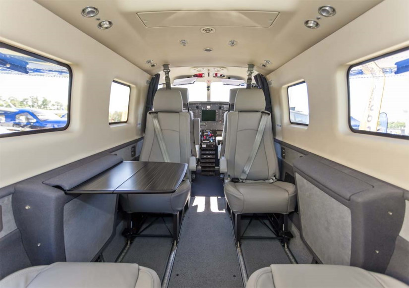 салон самолета Quest Kodiak 100