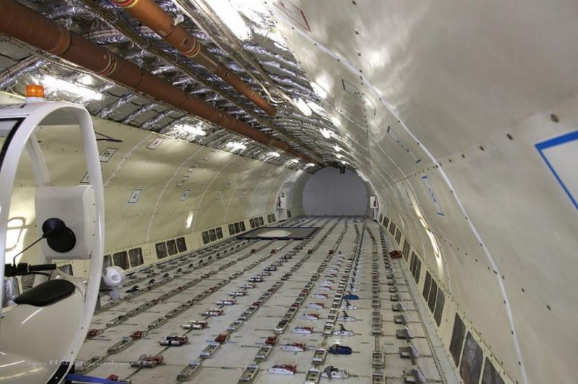 салон самолета Airbus A300 B4F