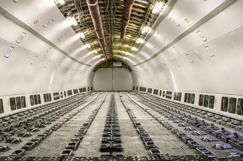 салон самолета Airbus A310-300F