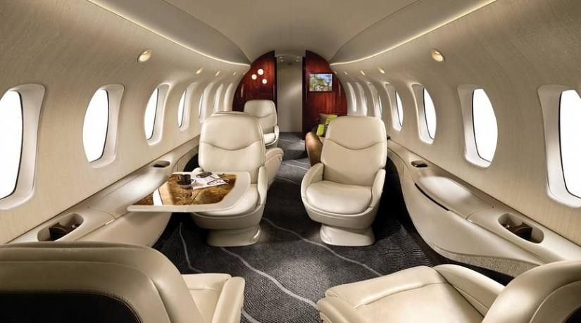 салон самолета Cessna 850 Citation Columbus
