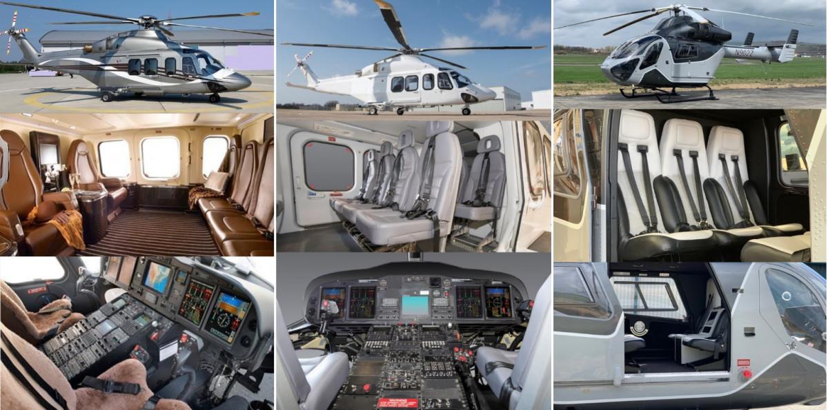 сравнение вертолетов бизнес класса