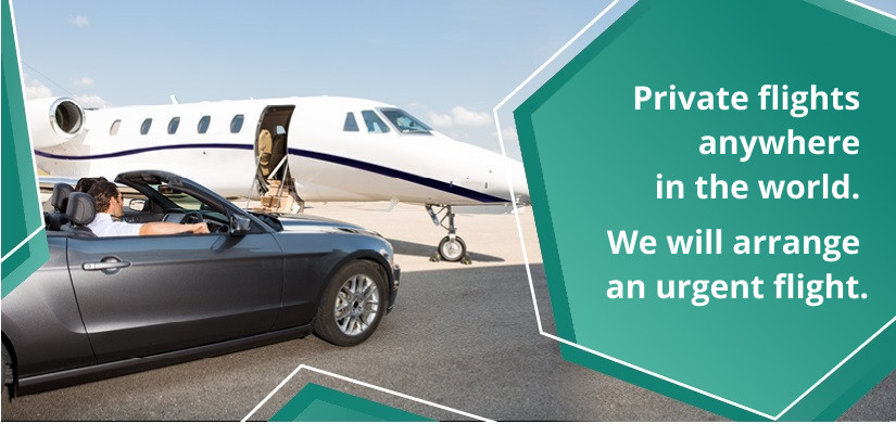business jet to Europe