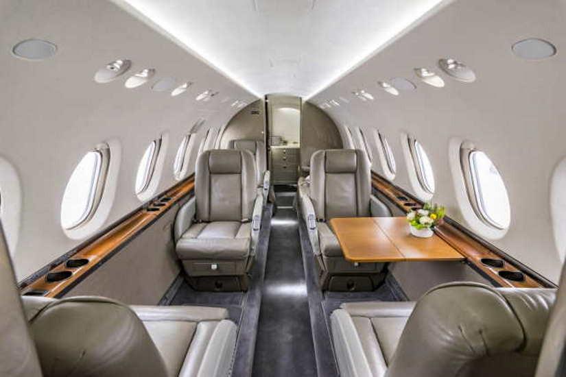 бизнес джет Beechcraft Hawker 750