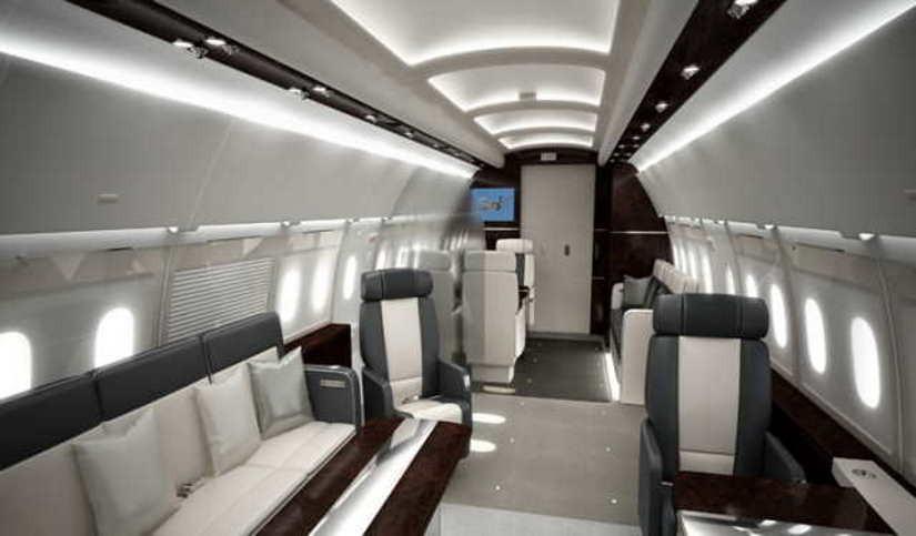 бизнес джет Airbus A318 Elite