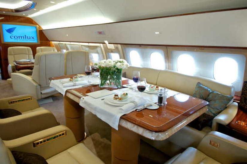 бизнес джет Airbus A319 CJ