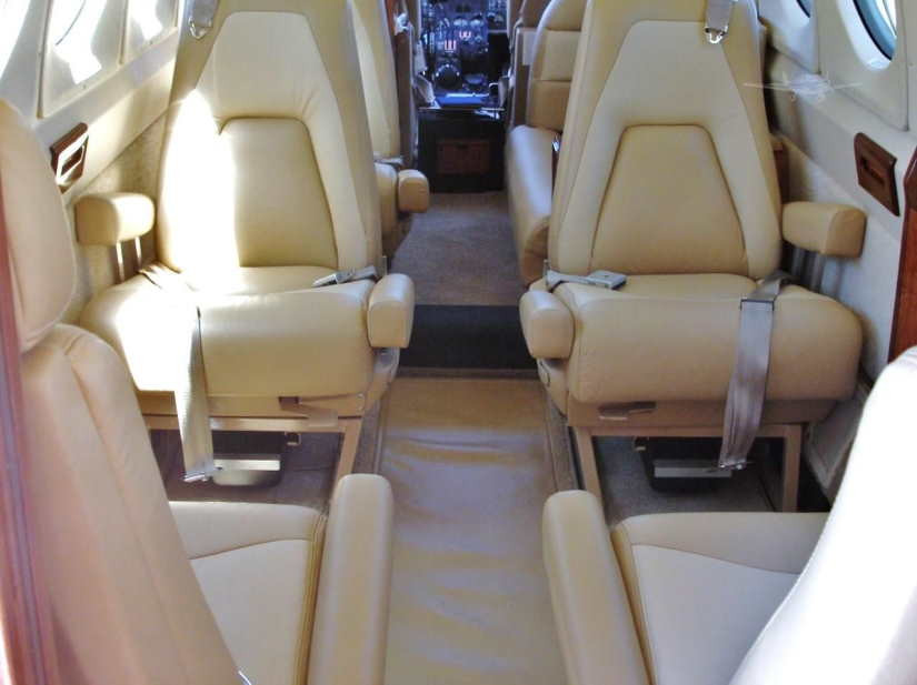 бизнес джет Beechcraft King Air 200
