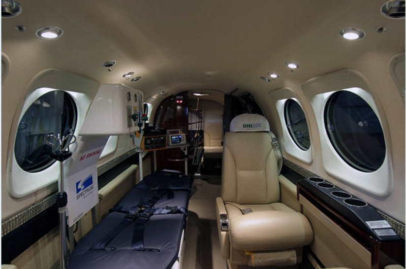 бизнес джет Beechcraft King Air 90