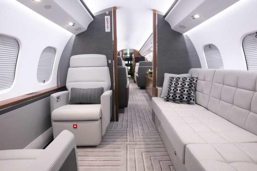 бизнес джет Bombardier Global 6000