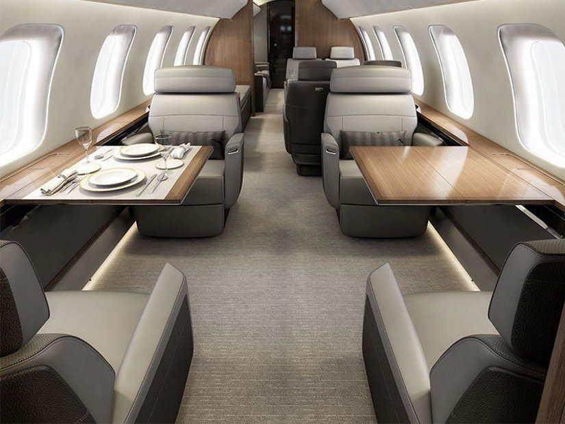 бизнес джет Bombardier Global 8000