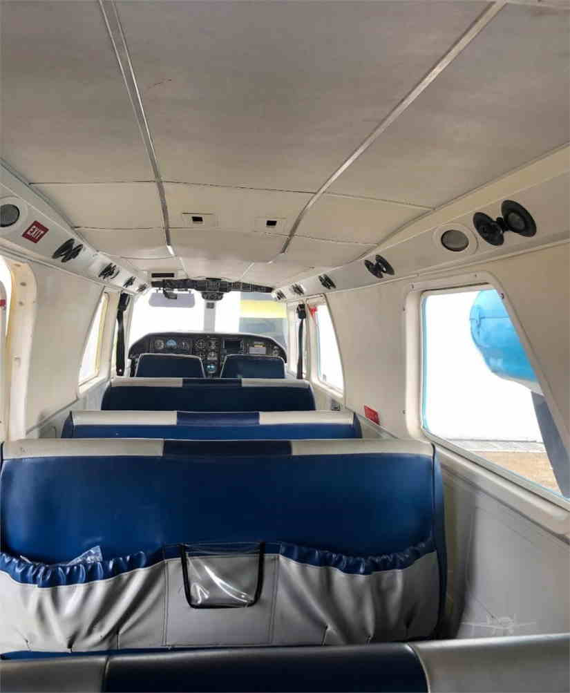 салон самолета Britten-Norman Islander