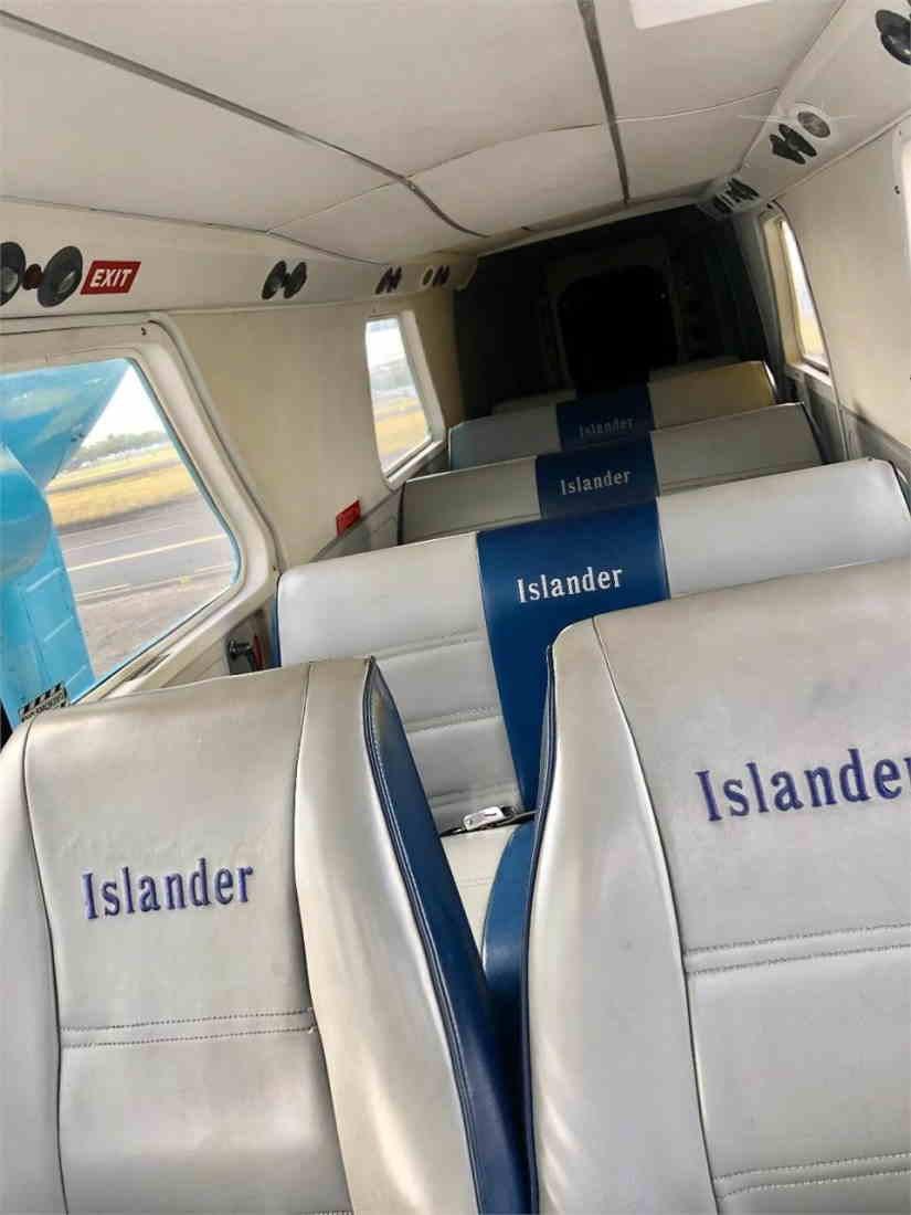 бизнес джет Britten-Norman Islander