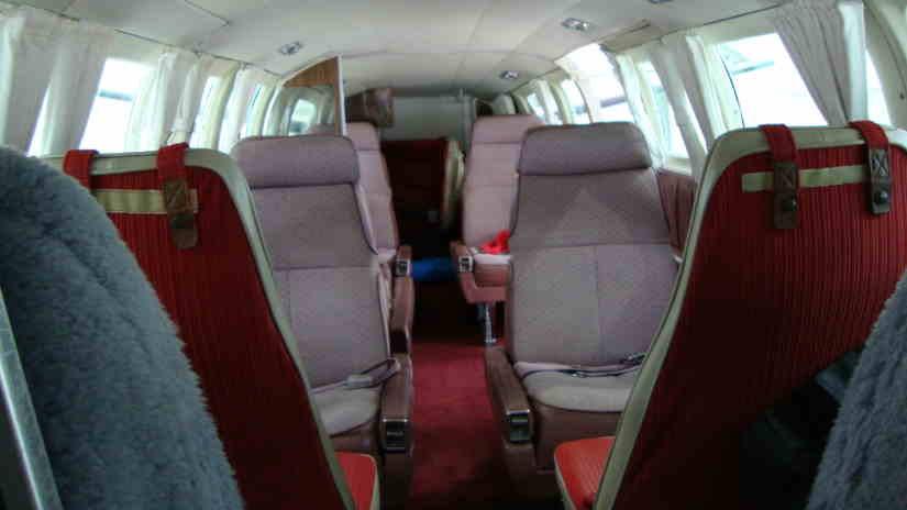 бизнес джет Cessna 404