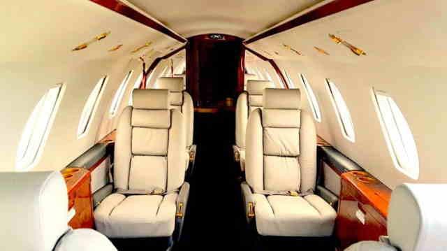 перелет самолетом Cessna Citation VI
