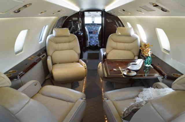 перелет самолетом Cessna Citation VII