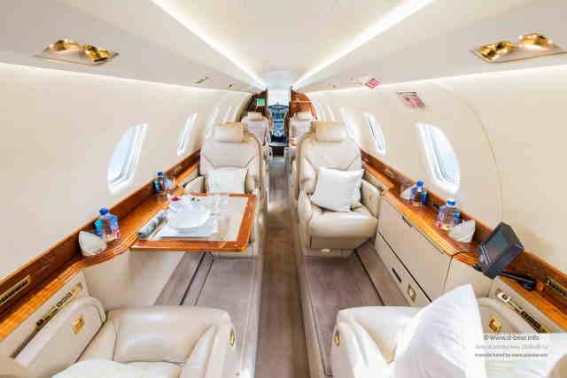 бизнес джет Cessna Citation X в России
