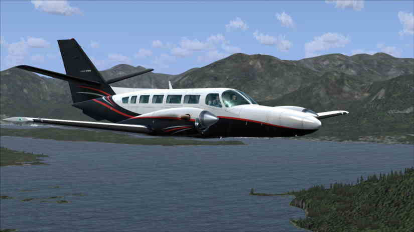 самолет Cessna F406 Caravan II