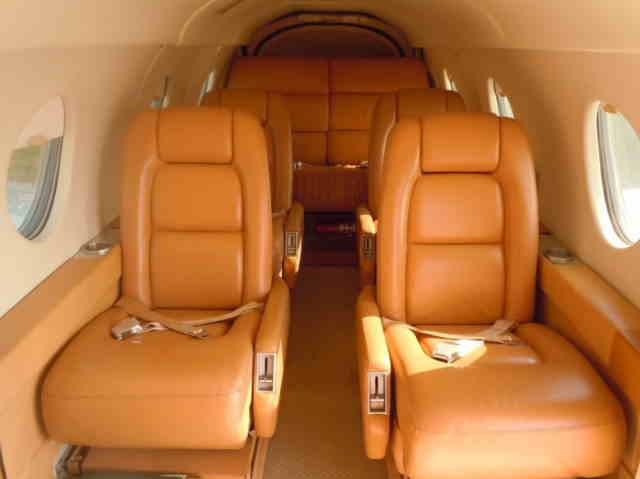 фото частного самолета Dassault Falcon 10