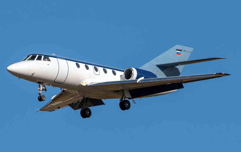 самолет Dassault Falcon 20