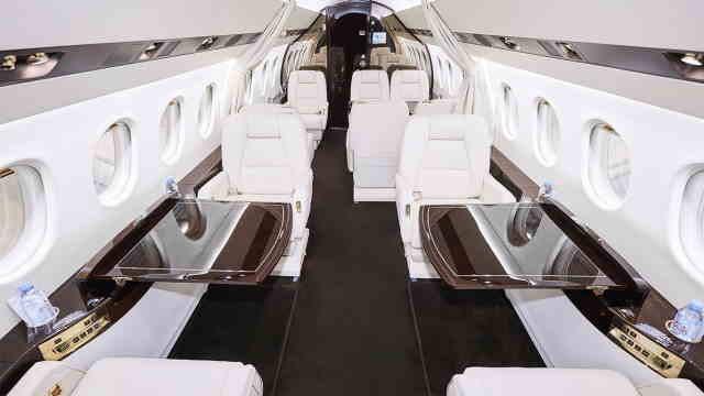перелет самолетом Dassault Falcon 2000